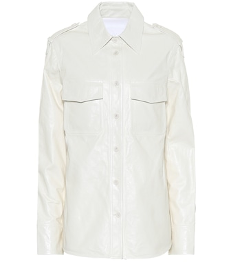 Helmut Lang - Leather shirt - mytheresa.com