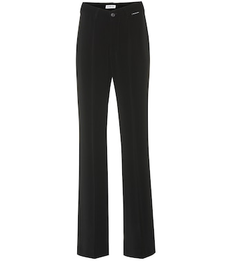 Balenciaga - High-rise technical-twill pants - mytheresa.com