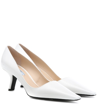 Prada - Patent leather pumps - mytheresa.com