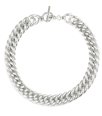 Tilly Sveaas - Sterling silver chain necklace - mytheresa.com