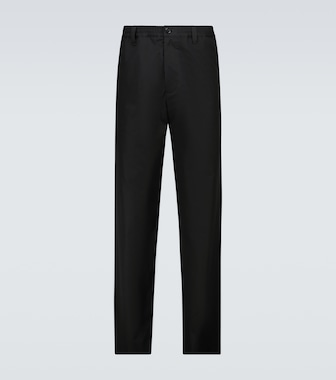 Marni - Straight-fit cotton pants - mytheresa.com