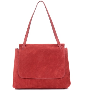 The Row - Sidekick suede shoulder bag - mytheresa.com