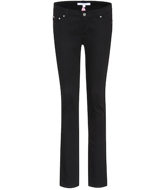 Givenchy - Embroidered skinny jeans - mytheresa.com