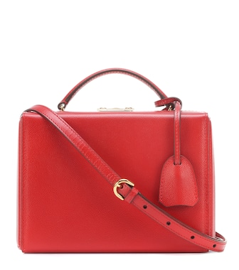 Mark Cross - Grace Small Box leather shoulder bag - mytheresa.com