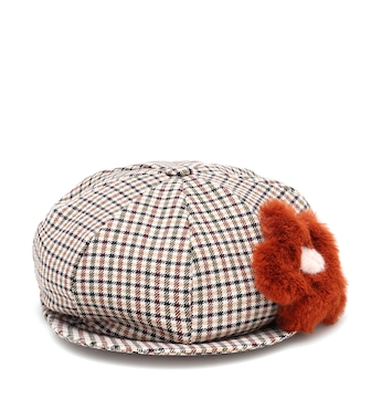 Il Gufo - Checked baker boy hat - mytheresa.com