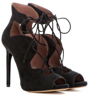 Tabitha Simmons - Reed suede lace-up ankle boots - mytheresa.com