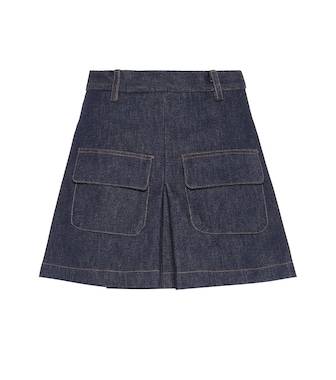 Matthew Adams Dolan - Pleated denim skirt - mytheresa.com