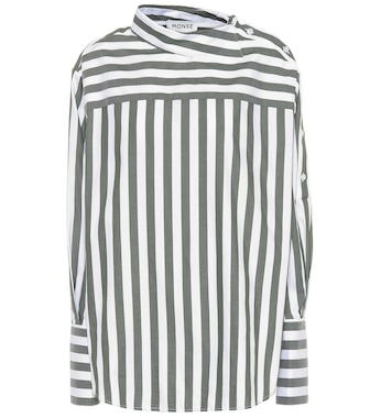 Monse - Striped cotton top - mytheresa.com