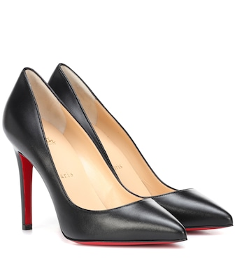 Christian Louboutin - Pigalle 100 leather pumps - mytheresa.com