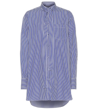 Valentino - Striped cotton shirt - mytheresa.com