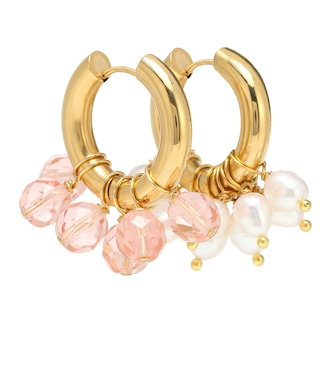 Timeless Pearly - Mismatched hoop earrings - mytheresa.com