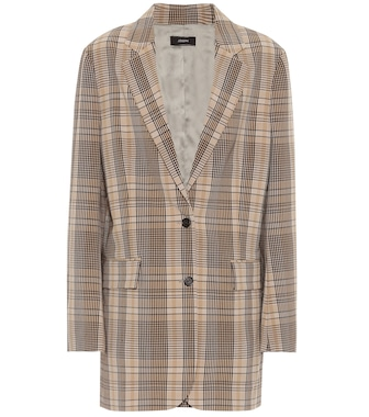 Joseph - Mayfield madras checked blazer - mytheresa.com