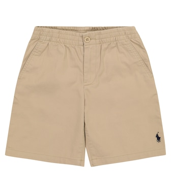 Polo Ralph Lauren Kids - Stretch-cotton shorts - mytheresa.com