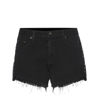 Rag & Bone - Cut Off embellished denim shorts - mytheresa.com
