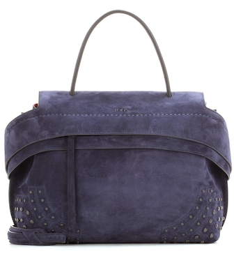 Tod's - Exclusive to mytheresa.com – Wave Small suede tote - mytheresa.com