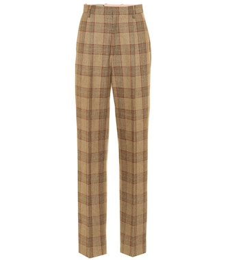 Gucci - Plaid wool pants - mytheresa.com