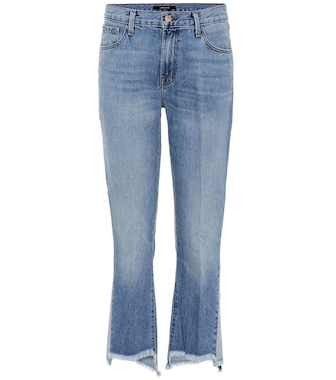 J Brand - Aubrie high-rise cropped jeans - mytheresa.com