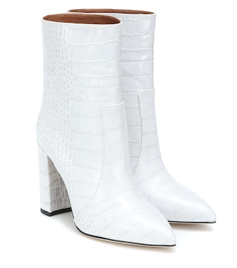 Paris Texas - Exclusive to Mytheresa – Snake-effect ankle boots - mytheresa.com