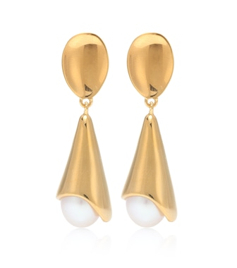 Sophie Buhai - Anna 18kt gold vermeil and freshwater pearl earrings - mytheresa.com