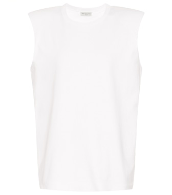 Dries Van Noten - Cotton sleeveless top - mytheresa.com
