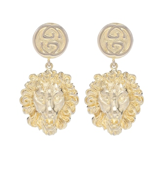 Gucci - Lion earrings - mytheresa.com