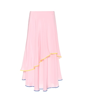 Anna October - Silk skirt - mytheresa.com
