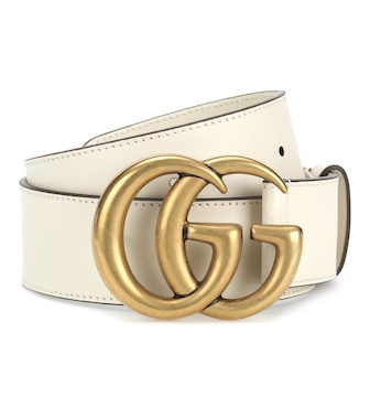 Gucci - Embellished leather belt - mytheresa.com