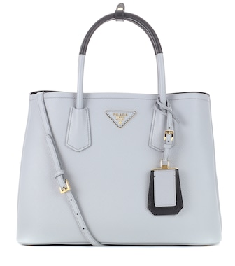 Prada - Double saffiano leather tote - mytheresa.com