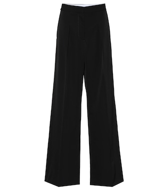 Stella McCartney - Pleat-front wool pants - mytheresa.com