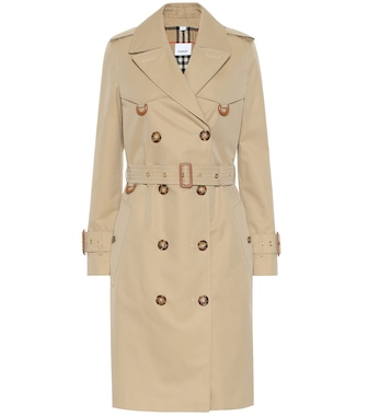 Burberry - Islington gabardine trench coat - mytheresa.com