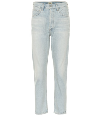 Citizens of Humanity - Charlotte high-rise straight jeans - mytheresa.com