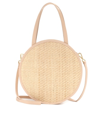 Kayu - Carrie straw and leather tote - mytheresa.com