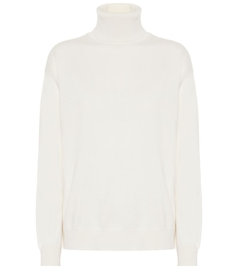 Brunello Cucinelli - Cashmere turtleneck sweater - mytheresa.com