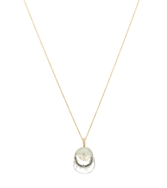 Sophie Bille Brahe - Verre Simple Diamant 14-kt yellow gold necklace with diamonds - mytheresa.com