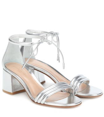 Gianvito Rossi - Sydney 60 leather sandals - mytheresa.com