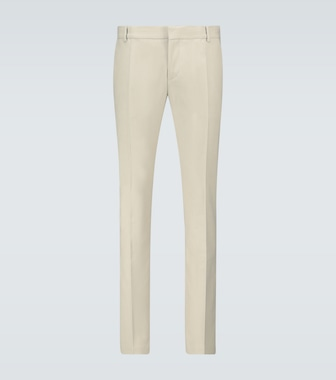 Balmain - Exclusive to Mytheresa - slim-fit cotton pants - mytheresa.com