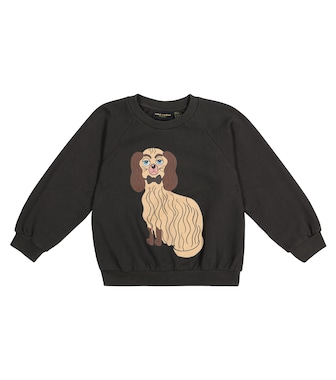 Mini Rodini - Dashing Dog cotton-jersey sweatshirt - mytheresa.com