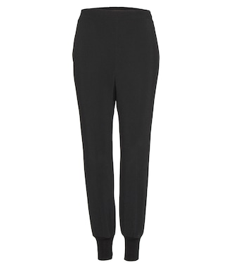 Stella McCartney - Julia crêpe trousers - mytheresa.com