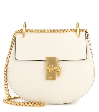 Chloé - Drew Small leather shoulder bag - mytheresa.com