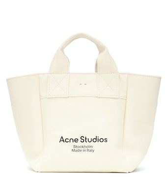 Acne Studios - Large canvas tote - mytheresa.com