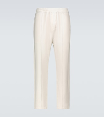 Prada - Garment-dyed cotton trackpants - mytheresa.com
