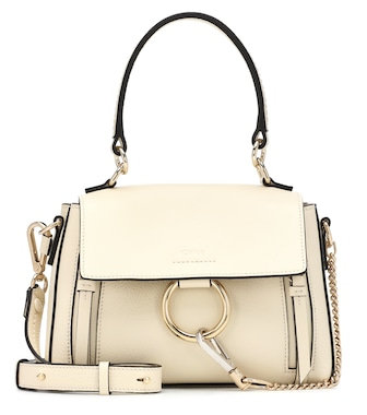 Chloé - Mini Faye Day leather shoulder bag - mytheresa.com