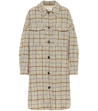 Isabel Marant, Étoile - Oario checked wool coat - mytheresa.com