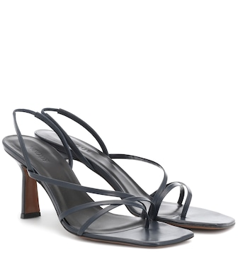 Neous - Exclusive to Mytheresa – Esmerelda leather sandals - mytheresa.com