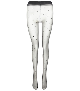 Saint Laurent - Collants à pois - mytheresa.com