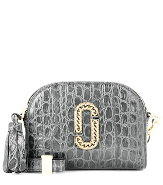 Marc Jacobs - Shutter Small embossed leather shoulder bag - mytheresa.com
