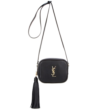 Saint Laurent - Monogram Blogger leather shoulder bag - mytheresa.com