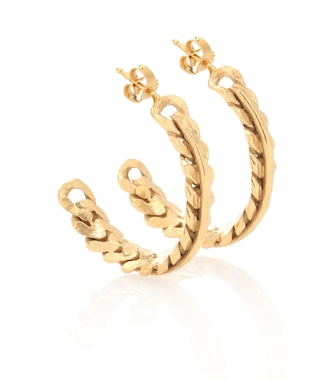 Elhanati - Exclusive to Mytheresa – Rita 24kt gold-plated earrings - mytheresa.com