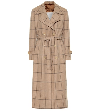 Giuliva Heritage Collection - The Christie wool trench coat - mytheresa.com