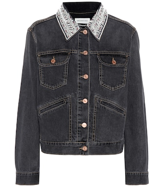 Isabel Marant, Étoile - Christa embellished denim jacket - mytheresa.com